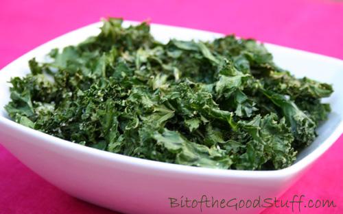 Crispy Kale (Kale Chips)
