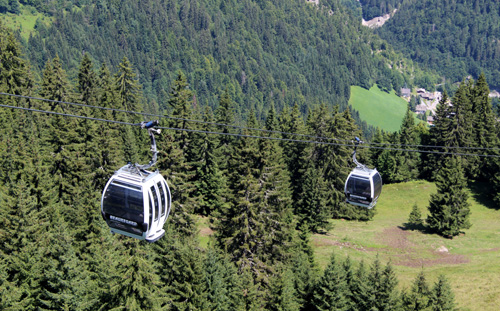 Beauregard cable cars