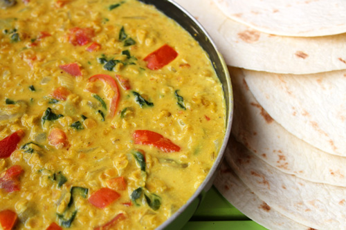 Creamy Red Lentil Curry