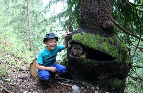 Hiking - La Clusaz woods