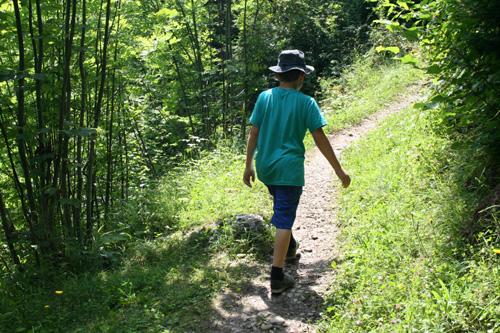 Hiking from La Clusaz