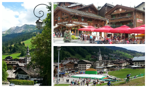 La Clusaz Collage