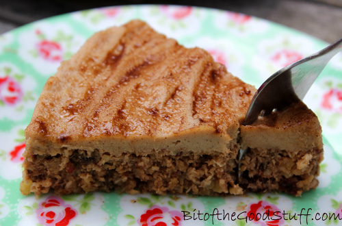 Apple & Walnut Cake (Raw / No Bake)