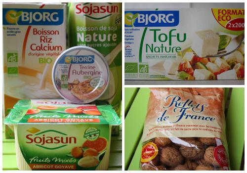 Vegan Food in France Collage