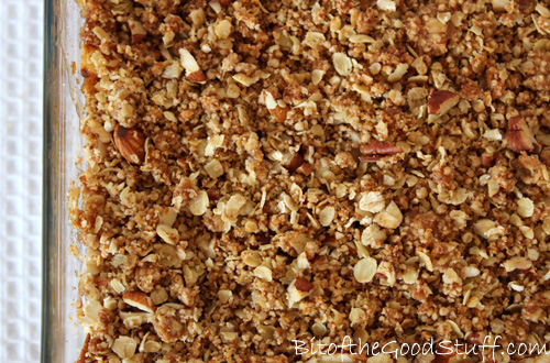 Crunchy Nut Apple Crumble