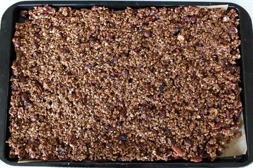 Granola Cluster Making