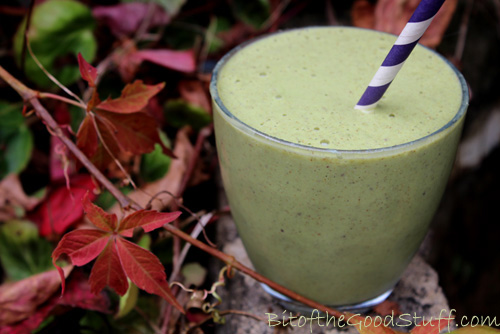 Green Apple and Almond Smoothie