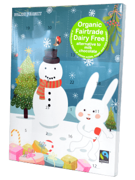 Holland & Barrett Dairy Free Advent Calendar blue
