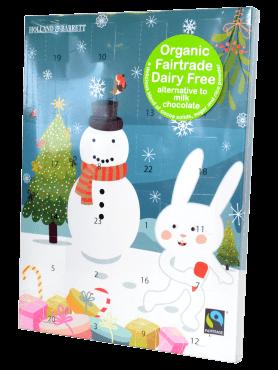 Holland & Barrett Dairy Free Advent Calendar blue