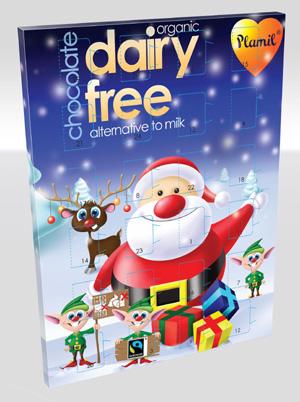 Plamil Dairy Free Advent Calendar