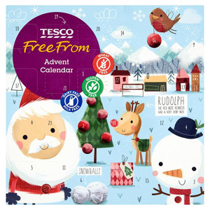 Tesco Free from advent calendar