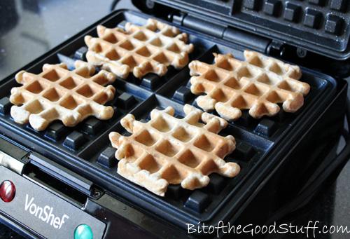 Vegan Waffles & VonShef Wafflemaker