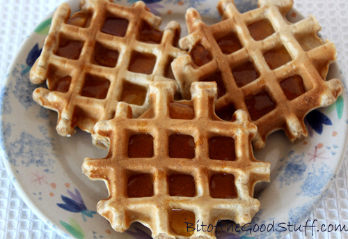 Easy Vegan Waffles (GF Option)