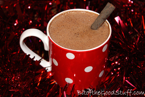 Orange Spiced Hot Chocolate