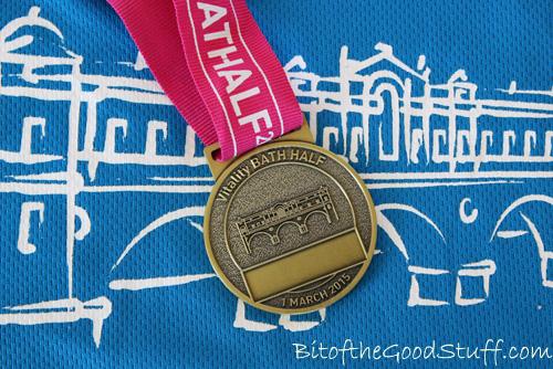 Bath Half 2015 Medal