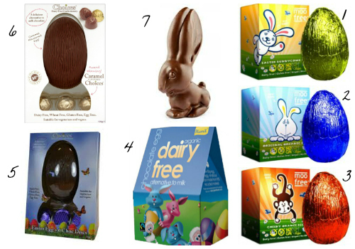 Dairy Free Milk Chocolate Eggs 2015