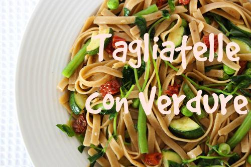 Tagliatelle con Verdure