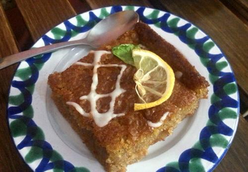 El Piano Ginger and Lemon Cake