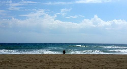 Lil L on Marbella Beach