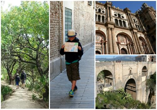 Sightseeing in Spain