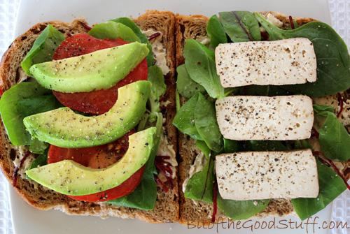 Smoked Tofu Sandwich