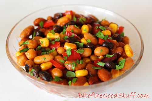 Smoky Bean Salad