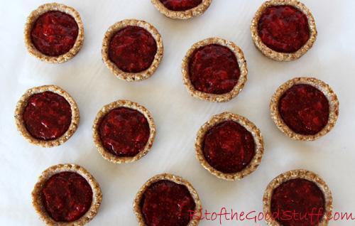 No Bake Strawberry Tarts