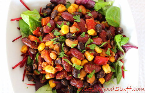 Smoky Bean Salad