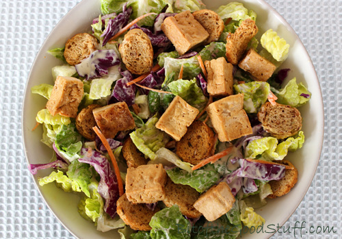 Ranch Caesar Salad