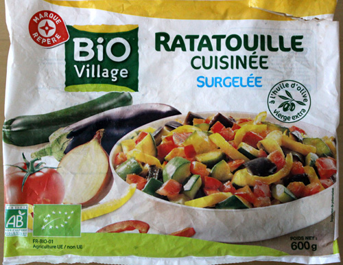 French Organic Frozen Veg 1