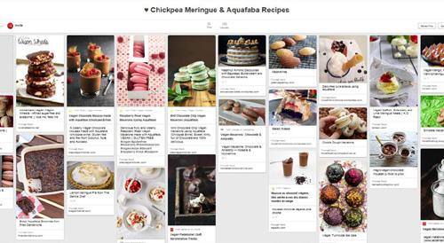 Chickpea Meringue Pinterest Board 500