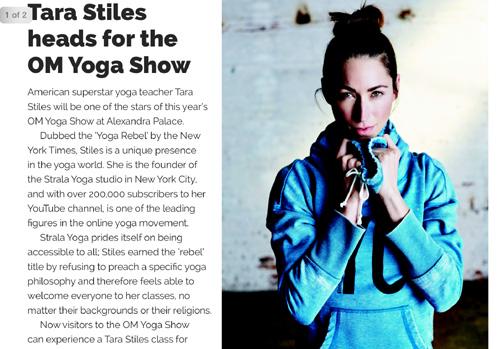 Tara Stiles Om Yoga Show