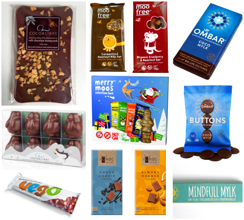 Vegan Milk Chocolate Collage 3