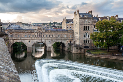 Pulteney Bridge and Weir 500