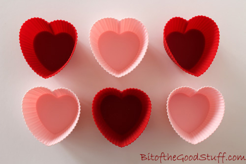 Heart Silicone Moulds