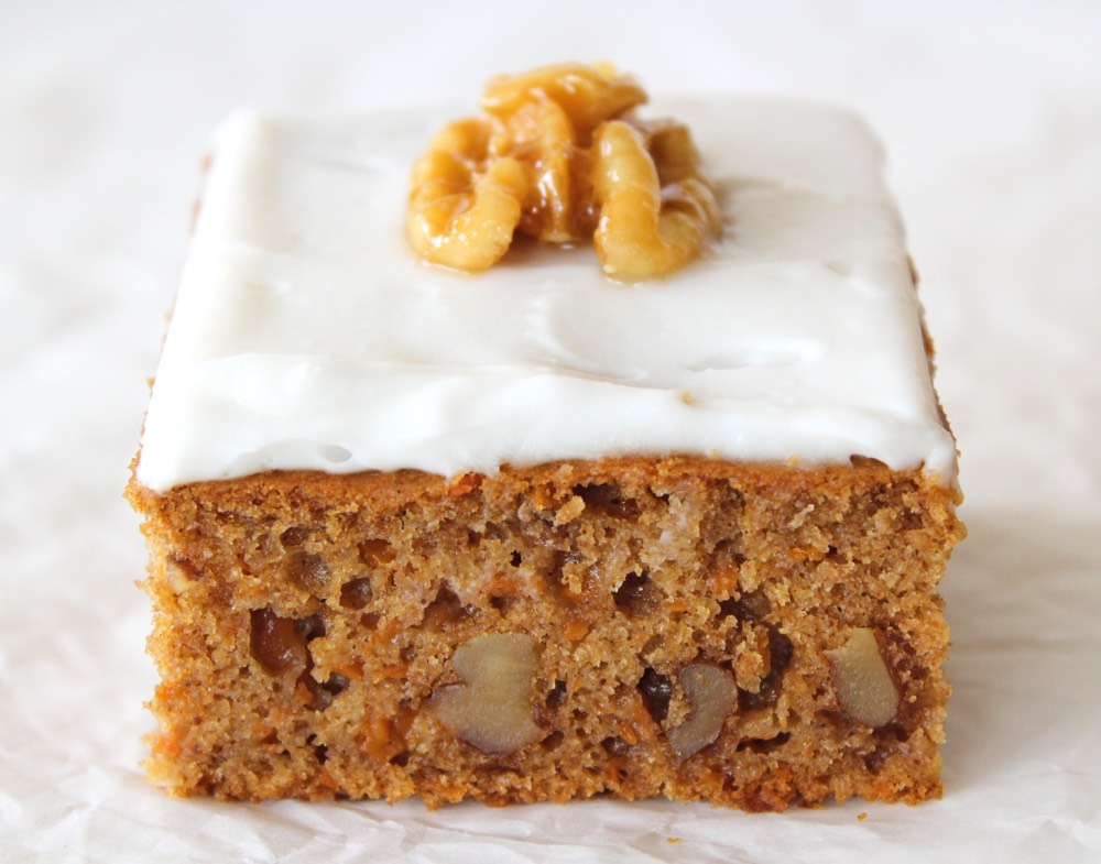Carrot Cake Recipe Uk Healthy: Vegan Carrot Cake With Cream Cheese Frosting