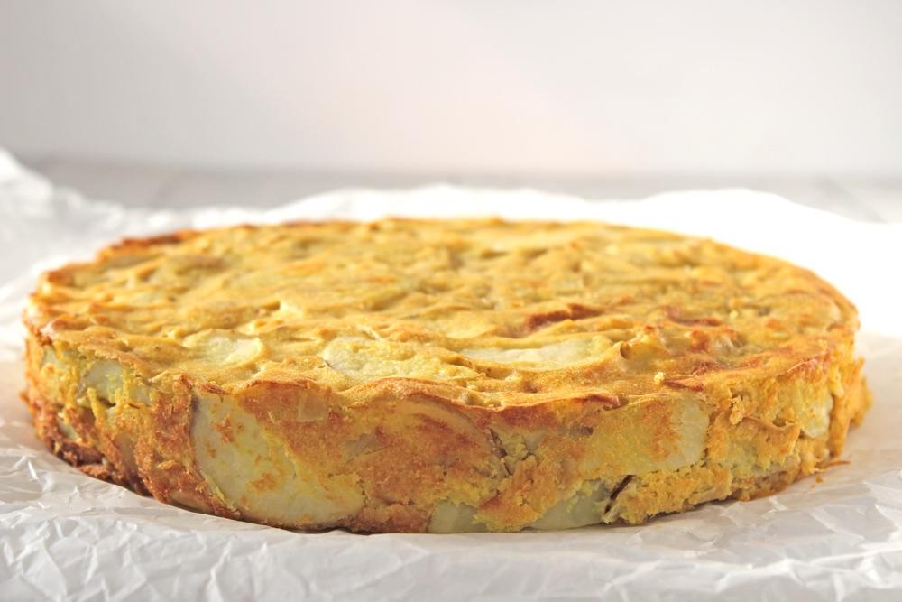 Vegan Spanish Potato Omelette Tortilla De Patatas Bit
