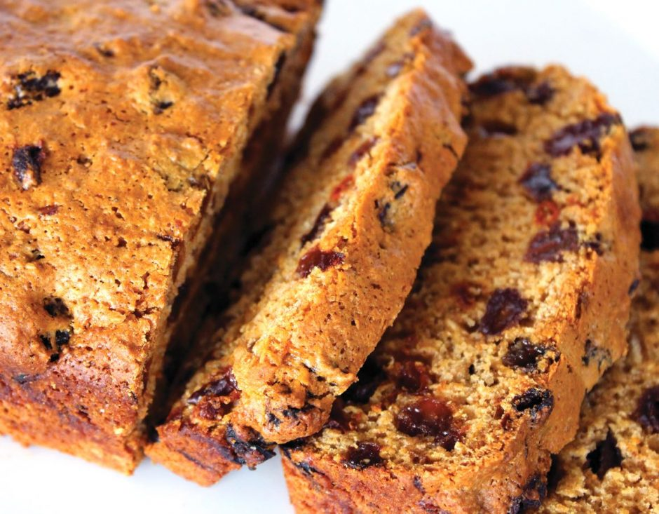 Old Fashioned English Tea Loaf (Dairy