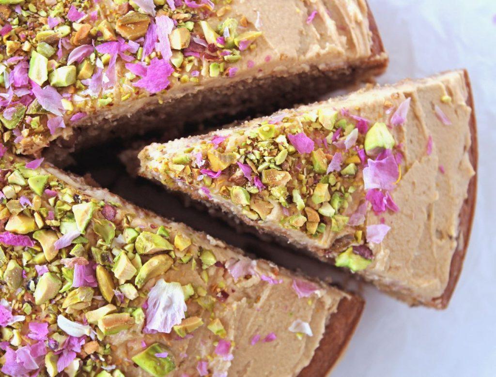 Vegan Coffee And Walnut Cake Bit Of The Good Stuff