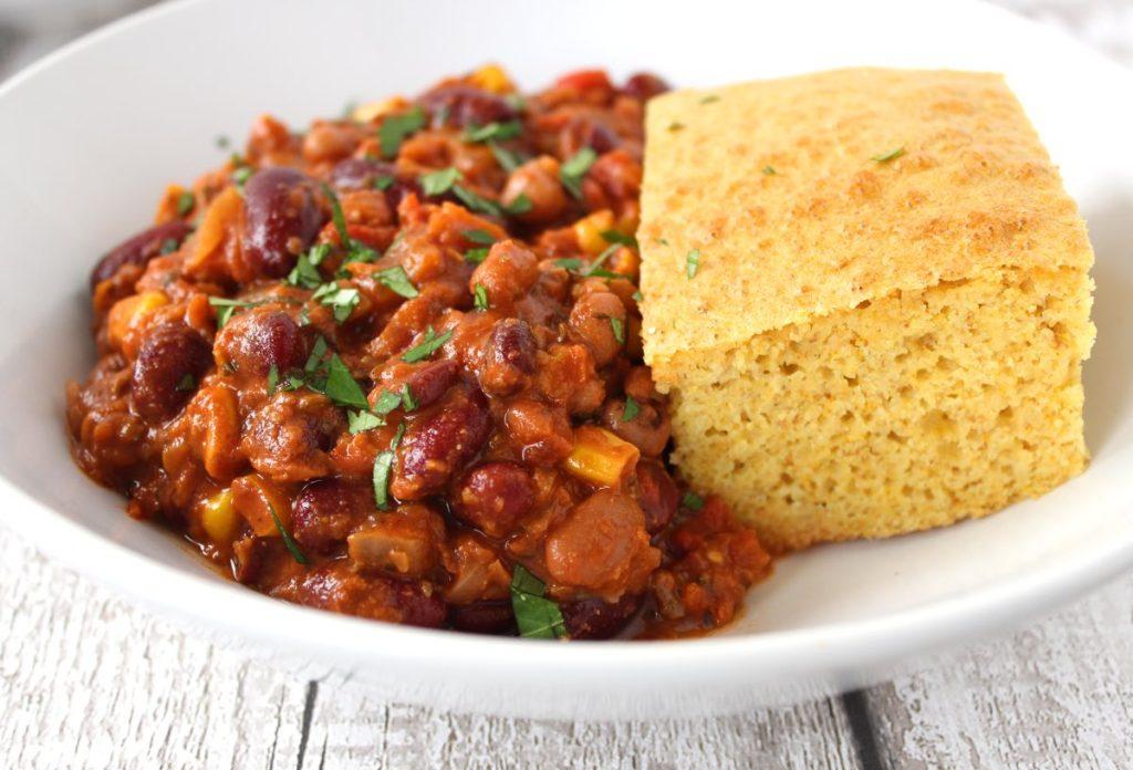 Six Bean Chilli Vegan Bit Of The Good Stuff