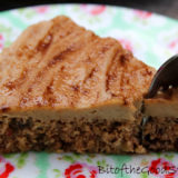 Apple & Walnut Cake with Cinnamon Caramel Frosting (Raw / No Bake)