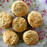 Cheese and Chive English Scones…. Vegan Style!