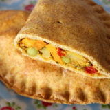 Curried Vegetable Pasties (Vegan / Dairy-Free)