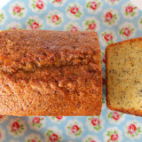 Orange Drizzle Cake with Poppy Seeds (Vegan / Dairy-free / Egg-free)