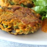 Sweet Potato Bhaji Burgers