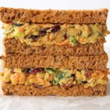 Curried Chickpea Smash Sandwich Filling